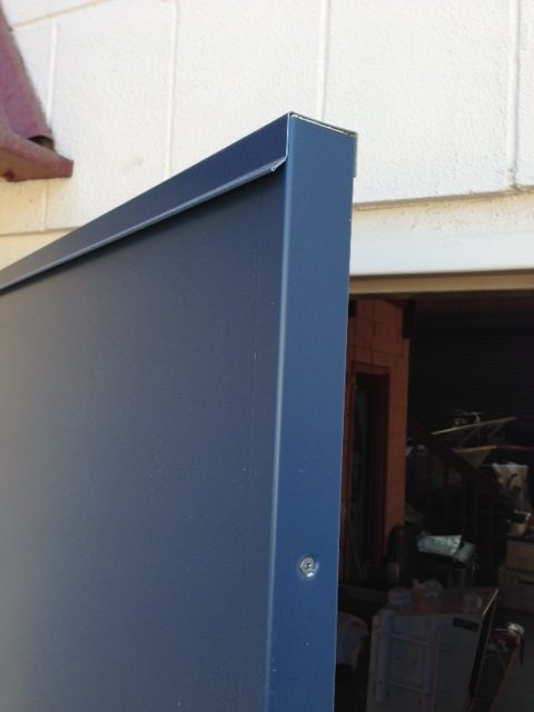 Fire-rated doors — Colourbond Door — Top