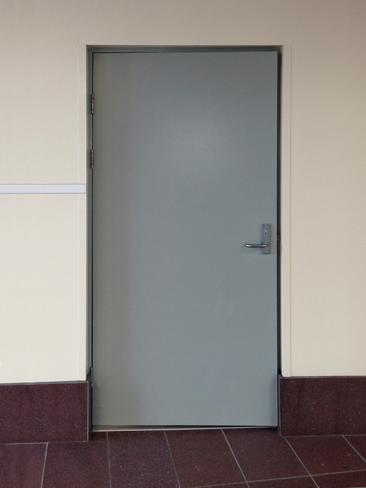 Fire-rated doors — Single fire door with mortice