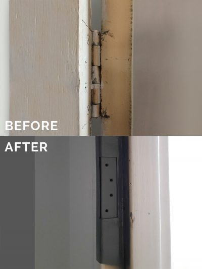 Frames and Welding — Welding repairs before & after photo